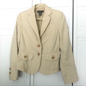 Banana Republic beige suit jacket Size 4